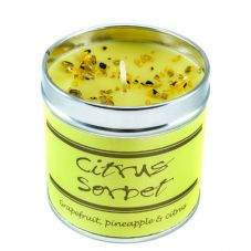 Best Kept Secrets CITRUS SORBET Candle Tin, Seriously Scented! - 50 hr burn time